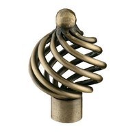 Siro Designs - Provence - Small Knob Antique Brass