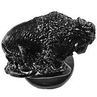 Sierra Lifestyles - Western Design - Buffalo Knob Left in Black