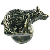 Sierra Lifestyles - Wildlife Design - Bear Knob Left in Bronzed Black