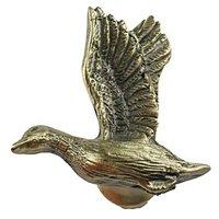 Sierra Lifestyles - Sportsman Design - Mallard Knob Right in Antique Brass