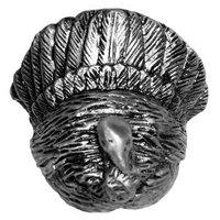 Sierra Lifestyles - Wildlife Design - Turkey Knob in Pewter