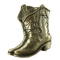 Sierra Lifestyles - Western Design - Boots Knob Left in Antique Brass