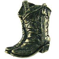Sierra Lifestyles - Western Design - Boots Knob Left in Bronzed Black