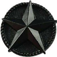 Sierra Lifestyles - Western Design - Star Knob in Black