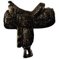 Sierra Lifestyles - Western Design - Saddle Knob Right in Bronzed Black