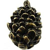 Sierra Lifestyles - Woodlands Design - Pinecone Knob in Bronzed Black