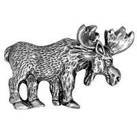 Sierra Lifestyles - Wildlife Design - Moose Pull in Pewter