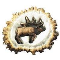 Sierra Lifestyles - Resin Antler Design - Elk Burr Pull Elk
