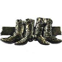 Sierra Lifestyles - Western Design - Boots Pull in Bronzed Black
