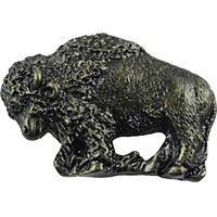 Sierra Lifestyles - Western Design - Buffalo Pull in Bronzed Black