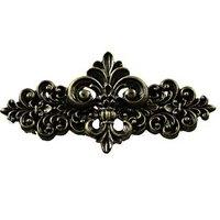 Sierra Lifestyles - Western Design - Fleur De Lis Pull in Bronzed Black