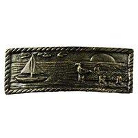Sierra Lifestyles - Coastal Design - Sail Boat Scene in Bronzed Black