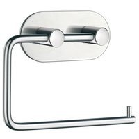 SMEDBO - Design Line - Steel Self-Adhesive Toilet Roll Holder in Polished Stainless Steel
