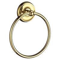 SMEDBO - Villa Bathroom Line - Towel Ring Polished Brass