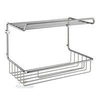 SMEDBO - Sideline Shower Baskets - Guest Towelbasket in Polished Chrome