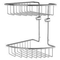 SMEDBO - House Bathroom Hardware Line - Corner Soap Basket Polished Chrome