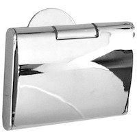 SMEDBO - Time Line - European Toilet Paper Holder with Lid in Polished Chrome