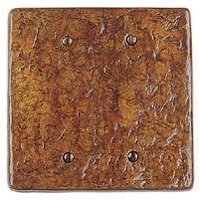 Soko - Wall Plate Cover - Blank Style Double Plate Cover in Antique