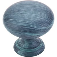 "Top Knobs - Somerset - Round Knob 1 1/4"" - Dark Verdigris"