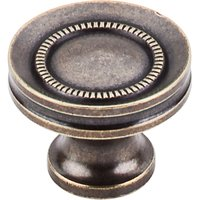 "Top Knobs - Somerset - Button Faced Knob 1 1/4"" - German Bronze"