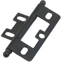 Schaub and Company - Hinges - Ball Tip Hinge in Matte Black