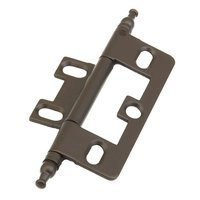 Schaub and Company - Hinges - Minaret Tip Hinge in Oil Rubbed Bronze