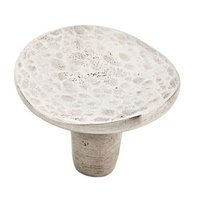 "Schaub and Company - Martello - 1 3/4"" Diameter Knob in Natural Britannium"