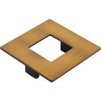 """Schaub and Company - Finestrino - 2 1/2"""" Centers Square Pull in Burnished Bronze"""