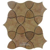 Stellar Tile - Mosaic - Terra Cotta Mosaic Tile in Rocca