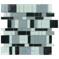 Stellar Tile - Tessera - Glass Mosaic Tile in Night