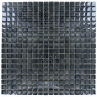 "Stellar Tile - Claude - 5/8"" x 5/8"" Glass Mosaic Tile in Mirror"