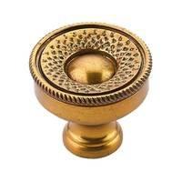 "Schaub and Company - Sonata - 1 1/4"" Diameter Knob in Paris Brass"