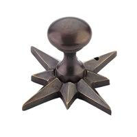 "Schaub and Company - Sonata - 11/16"" Diameter Knob in Dark Antique Bronze"