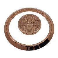 "Topex Cabinet Knobs - ML Collection - Galaksi Premium 3 3/4"" & 1 1/4"" Center Circular Set in Matte Black"