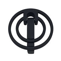 """Topex Cabinet Knobs - ML Collection - Naples 1 1/4"""" Center Pendant Pull in Matte Black"""