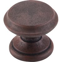 Top Knobs - Dakota - Flat Top Knob in Patine Rouge