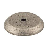 "Top Knobs - Aspen - Solid Bronze 1 1/4"" Diameter Round Backplate in Silicon Bronze Light"