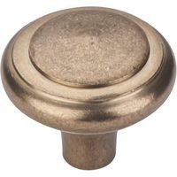 "Top Knobs - Aspen - Solid Bronze 1 5/8"" Diameter Peak Knob in Light Bronze"