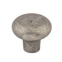 "Top Knobs - Aspen - Solid Bronze 1 3/8"" Diameter Round Knob in Silicon Bronze Light"