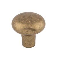 """Top Knobs - Aspen - Solid Bronze 1 5/8"""" Diameter Round Knob in Light Bronze"""