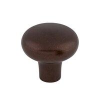 "Top Knobs - Aspen - Solid Bronze 1 5/8"" Diameter Round Knob in Mahogany Bronze"