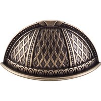 """Top Knobs - Trevi - Trevi - 1 1/2"""" Centers Cup Pull in German Bronze"""