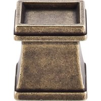 "Top Knobs - Great Wall - Great Wall - 1"" Flair Knob in German Bronze"