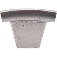 """Top Knobs - Sanctuary - 1 1/2"""" Arched Knob in Pewter Antique"""