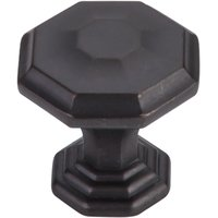"""Top Knobs - Chareau - 1 1/8"""" Diameter Chalet Knob in Sable"""