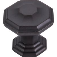 "Top Knobs - Chareau - 1 1/2"" Diameter Chalet Knob in Sable"
