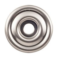 "Top Knobs - Devon - 1 3/8"" Brixton Knob Backplates in Brushed Satin Nickel"