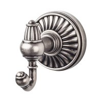 Top Knobs - Tuscany - Double Robe Hook in Pewter Antique