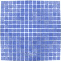 "Vicenza Mosaico Glass Tiles - Touch Glass Tile - 3/4"" Glass Film-Faced Sheets In Deep Waters"