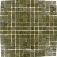 "Vicenza Mosaico Glass Tiles - Touch Glass Tile - 3/4"" Glass Film-Faced Sheets In Bark"